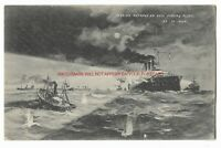 Yorkshire Hull Russian Outrage on Fishing Fleet Vintage Postcard 13.11