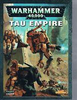 WarHammer 40K 40,000 Codex: Tau Empire PB 2005 Games Workshop Citadel