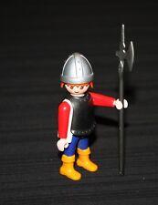 Playmobil moyen âge garde royal roux 3674 3659