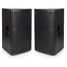 15 Inch PA Speakers 1000w RMS (4000w Peak Package) 8Ohm PAIR