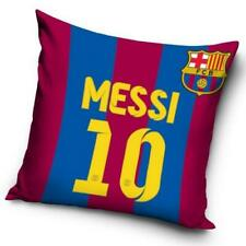 FC BARCELONA MESSI 10 SQUARE CREST CUSHION PILLOW SOFA CHAIR NEW GIFT XMAS