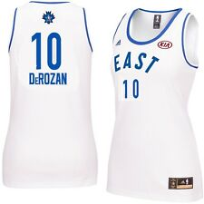 DeMar DeRozan  10 Women s 2016 Toronto NBA All Star Game Jersey White Sz  Medium 8a0f1adc1