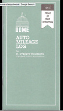 Dome Auto Mileage Log Book $5.25!  Free Shipping Too! SALE: BUY 3 GET 1 FREE!