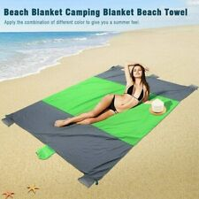 Sandfree Beach Blanket Extra Large Foldable Waterproof Picnic Mat Set Beach Mat