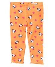 New Gymboree Panda Academy Baby Girl Orange Leggings 12-18 Month