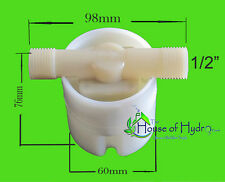 Hydroponic Mini Float - Water level controller- interior/ exterior mount