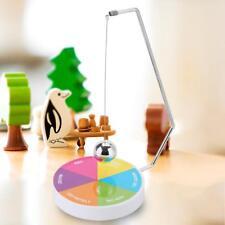 Magnetic Decision Maker Ball Swing Pendulum Office Desk Decor Game Props Gift