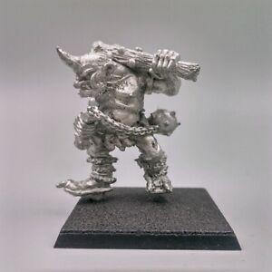 C23 Ogre Beserker Citadel Miniatures Games Workshop Warhammer Fantasy 1986 WHFB
