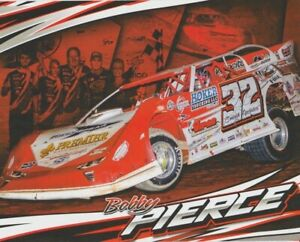 "2020 Bobby Pierce ""Smooth Operator"" Dirt Late Model postcard"