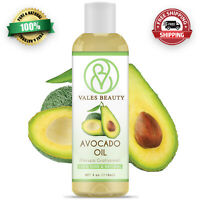 Avocado Oil 4 oz 100% Natural Great For Aromatherapy Skin Body & Hair