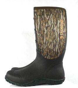 "Lacrosse 16"" Alpha Lite Boots Mossy Oak Bottomland Men's Size 10 200071 5mm"