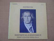 Beethoven Robert-Alexander Bohnke Berühmte Klavierwerke II  Vinyl