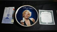 "MARILYN MONROE BRADFORD EXCHANGE THE GOLD COLLECTION ""GRACEFUL BEAUTY"""