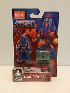 Mega Construx Masters of the Universe MOTU Man-E-Faces figure MISB