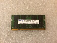Memoria Sodimm DDR2 Samsung M470T2953CZ3-CD5 1GB PC2-4200 533MHz CL4 200-Pin