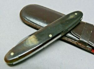 Victorinox 75mm Model 50  Swiss Army Knife with horn scales