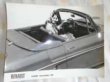 Renault floride cabriolet press photo 1961