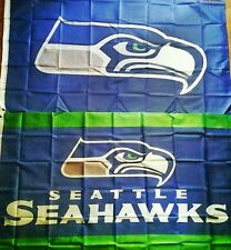 2 Seattle Seahawks Flags 3' x 5' Banners