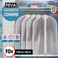10x SUIT COVER BAGS - Jacket Garment Storage Coat Protector Clothes Dress