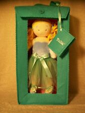 T8 Tulia Ballerina Doll, Plush, Blue/Teal Tutu, Sparkles, Blonde Curls, Pet, NIB