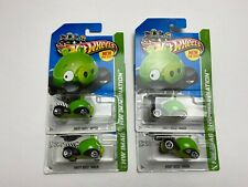 HOT WHEELS 4 ANGRY BIRDS MINION PIGS VARIATIONS NEW MODELS IMAGINATION 1/64 LOT