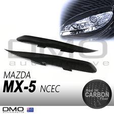 Mazda MX-5 Miata NC MK2 08-14 OKAMI Aero Headlight Lid eyebrow Carbon Fiber
