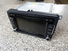 Org. VW Golf CD Radio Navigation Touchscreen Multimedia RCD 510 1K0035180AE