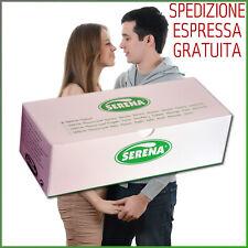 144 Preservativi Serena Nature Profilattici Regolari Trasparenti con Serbatoio