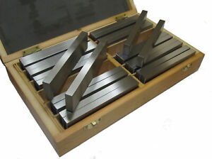 RDGTOOLS 12PR METRIC PARALLEL STEEL SET MATCHED PAIRS 120MM LONG