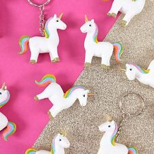 MAGICAL RAINBOW UNICORN KEY RING KEY CHAIN GIFT