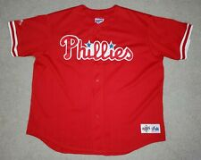 Vintage Phillies Jersey  XXL Adult  Majestic Diamond Collection Stitched