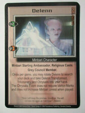 1999 Babylon 5 Ccg - Severed Dreams - Rare Card - Delenn ( Transformer )