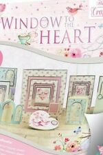 "22 Foiled Sheets 8"" x 8"" Hunkydory Window to the Heart Craft Theme NEW"