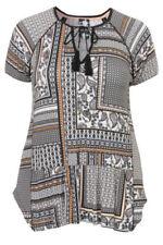 Kurzarm Damen-Shirts mit Ethno