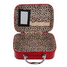 PU Leather Cosmetic Makeup Storage Case Nail Polish Varnish Box Toiletry Bag