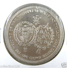 New listing Isle Of Man Crown, 1981, Wedding of Prince Charles and Lady Diana