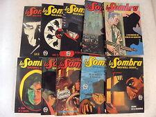 La Sombra,Completa en 10 Novelas,Ed.Cate 1981