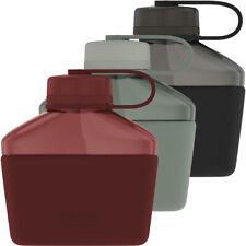 Thermos 32 OZ Guardian Collection Cantimplora de plástico duro con funda de silicona