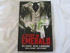 Dark Horse Comics A Study In Emerald By Neil Gaiman