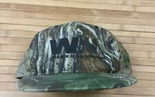 Vimtage Waste Management Illinois Camo Snapback Hat Cap Camouflage