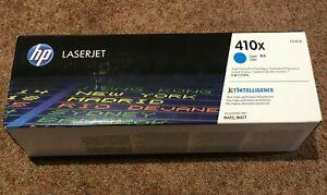 HP 410X Cyan High Yield Original LaserJet Toner Cartridge Cyan CF411X NEW