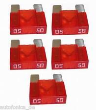 5x Flachsicherung MAXI 50A Leistungssicherung Sicherung kfz Auto Fuse APX Zeeman
