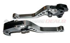 CNC Adjustable Shorty Brake Clutch Lever Titanium For Honda CBR 1000 2004 - 2007