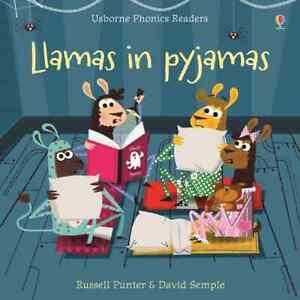 Llamas in Pyjamas Russell Punter & David Semple Paperback Usborne Phonics Reader
