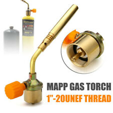 Mapp Gas Self Ignition Turbo Torch Brazing Propane Welding Plumbing Tool Kit