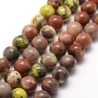 Kaiserlicher Jaspis Perlen Bunte 8mm Kugel Strang Edelsteine Natursteine G620