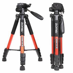Professional ZOMEi Q111 Aluminum Tripod Stand Kit For Nikon Canon Camera Videos