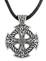 Sun Cross Celtic Cross Pendant Necklace Christian Jewelry Religions Amulet
