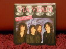 VIA VERDI  - SOMETIMES - SOMETIMES insrumental - nuovo 1986