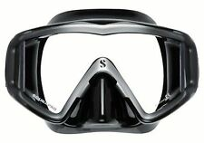 Scubapro Crystal VU Scuba Diving / Snorkeling Mask - Black Silver